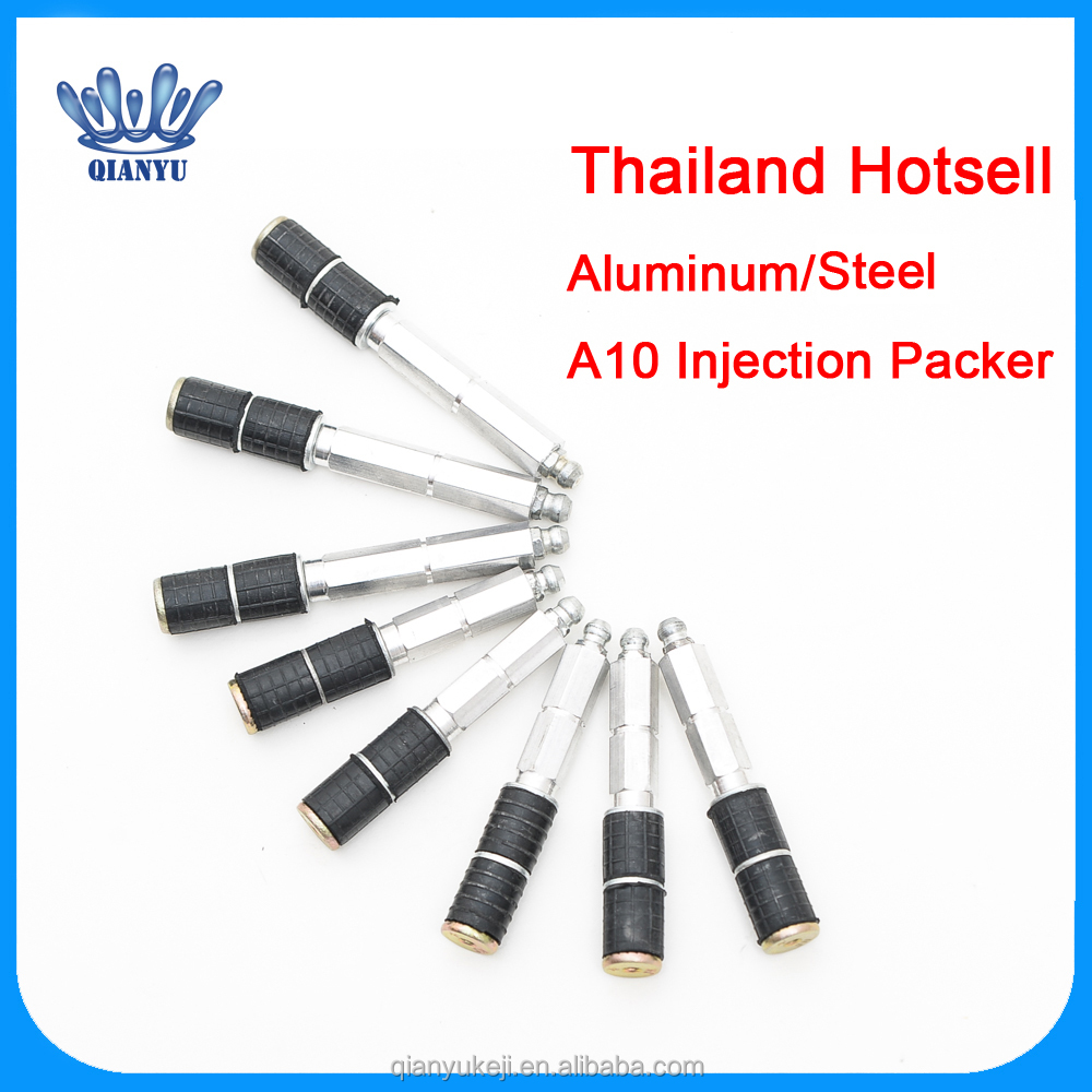 China Factory Thailand Hot Sell PU Foam Epoxy Waterproof Grouting Injection Packer for Crack Sealing