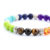 7 colored chakra yoga beads bracelet bangles