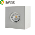 CCT Adjustable Gyro Square 9W Surface Square Led Downlight with Triac Dimmable