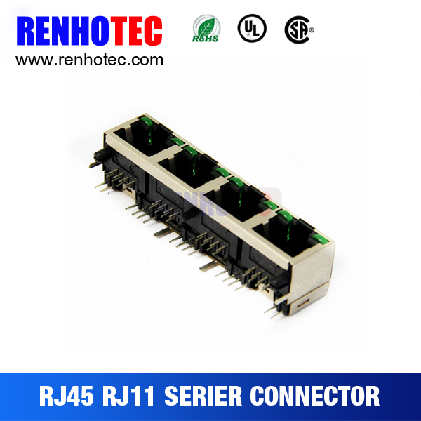 rj45 male to rj45 female cable for pcb mount
