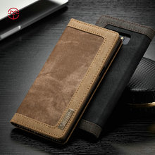 CaseMe wholesale wallet case for Samsung galaxy note 8 case card slot flip stand