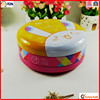 china manufacturer packing metal round europe biscuit tin box