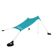 UV50+Lycra stretch sun shade beach tent with sand anchor