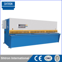 QC12Y 10x2000 CNC Hydraulic Sheet Metal Pendulum Shearing Machine , chin chin cutting machine