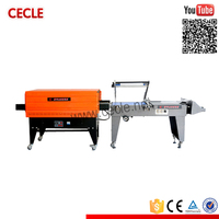 Newest advanced packaging pvc cling film tray shrink packing machine