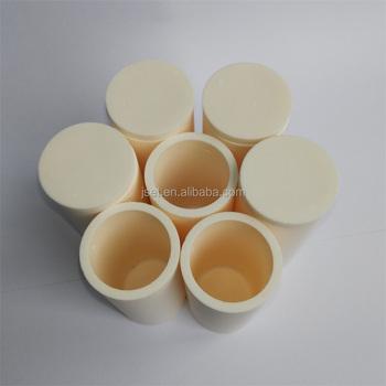Al2O3 high temperature aluminum oxide crucible