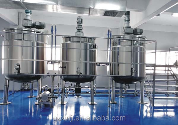 Sanitizer / liquid soap / hand washing Stainless Steel mixing machines