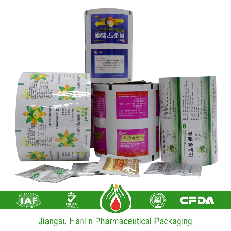 60-950mm soft composited food packaging laminate film