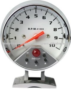 Universal Multiple LED Analog Tachometer RPM Meter for Cars with Shift Light