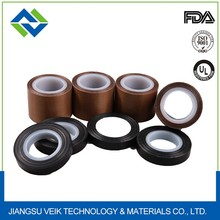 Package industry different thickness PTFE teflon glass fabric tape