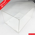 Custom Shoe Box Display Clear Acrylic With Hinge