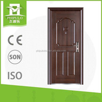 china manufacturer used exterior french steel security doors for sale