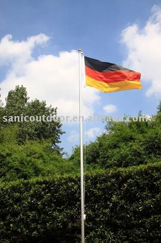 20FT aluminium sectional flag pole kit