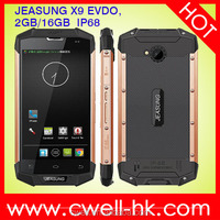 2015 NEW JEASUNG X9 EVDO IP68 Android Rugged Waterproof Smartphone 2RAM/16ROM WIFI Bluetooh Unlocked