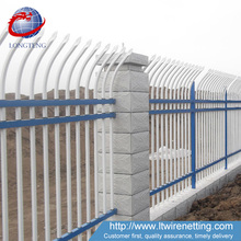 Anping Longteng factory high outdoor metal ornamental wrought iron fence price