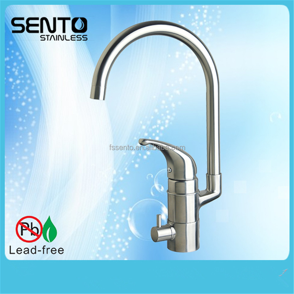 Stainless steel body special design sink faucet kitchen tap