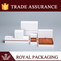 High-end Velvet Jewelry Paper Box for Jewelry Ring Necklace Chain Bracelet