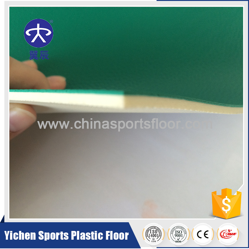 Top Sales High Quality Green Litchi PVC Basketball Sports Flooring Used For Basketball Flooring Price