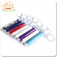 custom logo mini promotional Led Keychain with projector logo function for promotion gifts