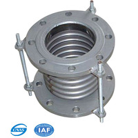 ASME industrial bellows expansion joint with double flange