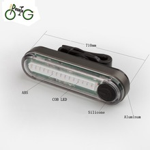 High quality USB rechargeable bicycle tail light from boshing