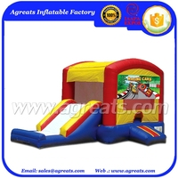 Commercial Inflatable Bouncy Jumping House Inflatable Combo With Big Slide for Kids Amusement Sport Game G3135