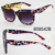 STORY Cheap Women Cat eye Thick Frame Jinhuang Lanyard 2 dollar shop sunglasses