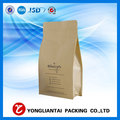 500g flat bottom milk powder packaging material paper pouch bag