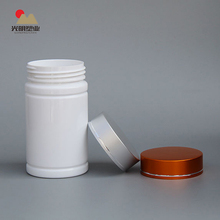 Professional Cylindrical White Plastic Container
