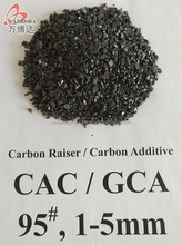 Gas Calcined Anthracite Coal/GCA/CAC/Carbon Additive/Carbon Raiser Low ash & low sulfur --Wanboda Brand