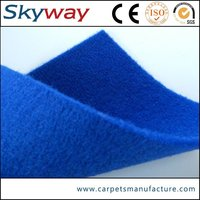Best selling good quality new products velour jacquard nonwoven carpet