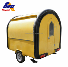 High quality mobile breakfast food carts for sale/street french fries food cart/food truck fast food van
