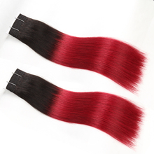 Aliexpress 100 human hair wholesale quality ombre color straight wave real virgin brazilian hair
