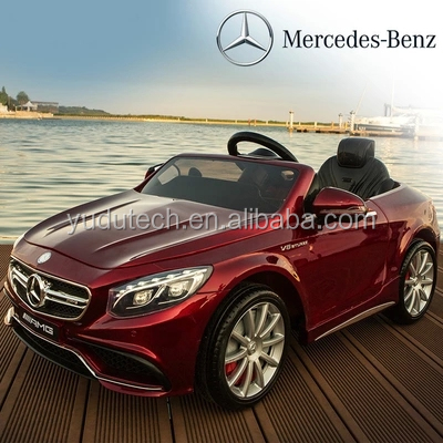 License Mercedes-benzS63 ,remote control baby electric car,kids battery powered Mp3 2.4G bluetooth remote control ride on toys