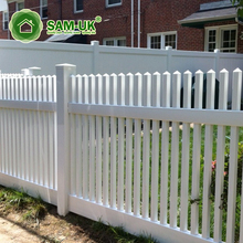 4 ft. H x 6 ft or 8 ft. W cheap laminate plastic garden fencing