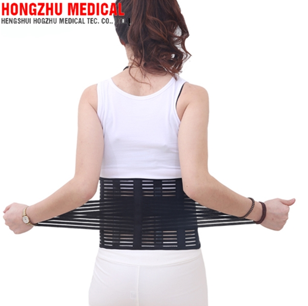 D02 OEM Available Waist Support Double Pull Strap Lower Lumbar Brace Belt