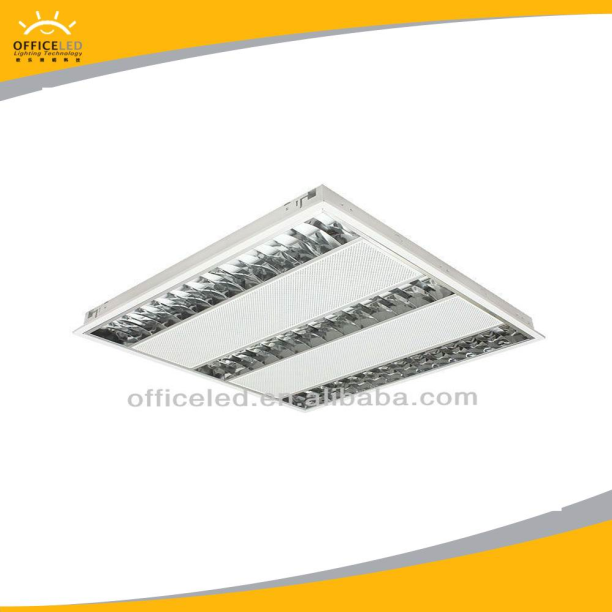 4x14w led grille light led louver lamp led troffer light fixture