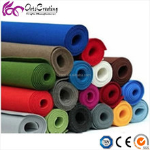 wholesale felt fabric roll , art felt paper in different colors