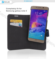 magnet leather phone case for samsung galaxy note 5 detachable strong magnetic