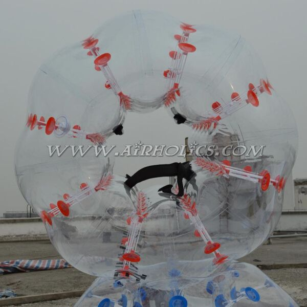 Best selling PVC bubblefootball game inflatable bumper ball for game sports