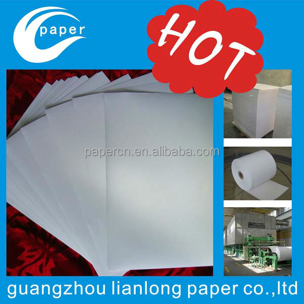 hot sale 100% cotton paper with security thread watermark