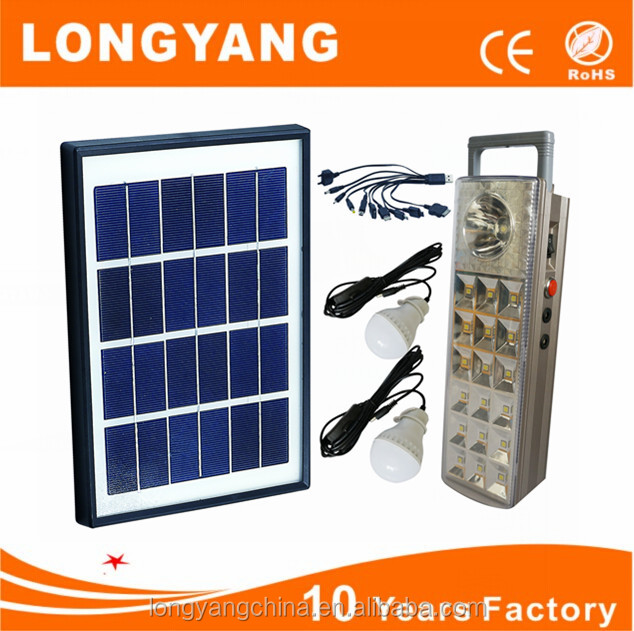 China portable mini led solar lighting kit sell well in Middle East
