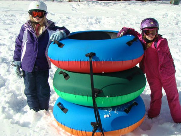 inflatable water snow tube