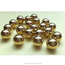 High quality 15mm 20mm 25.4mm 35mm H62/H65 solid copper/brass ball