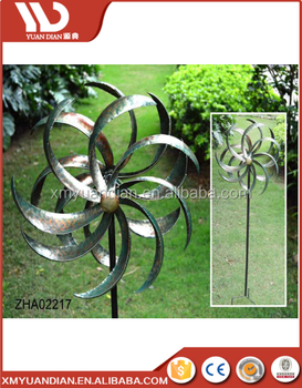 Hot sales Metal Garden Windmill for Out door Garden Decoration 2017