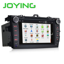 Special For Car DVD Player Toyota Corolla 2015 GPS Navigation Radio Audio System With Backup Camera