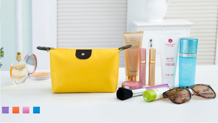 Wholesale Polyester Makeup Bags Travel Cosmetic Bags for Ladies