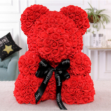 2018 best valentine <strong>gifts</strong> to your girl rose teddy bear eternal flowers birthday <strong>gift</strong>