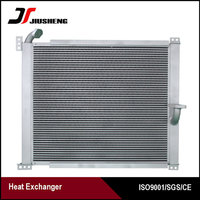 Hydraulic Oil Cooler Fan Excavotor Radiator For Sale