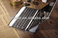 2013 Aluminum alloy bluetooth wireless keyboard for ipad 3